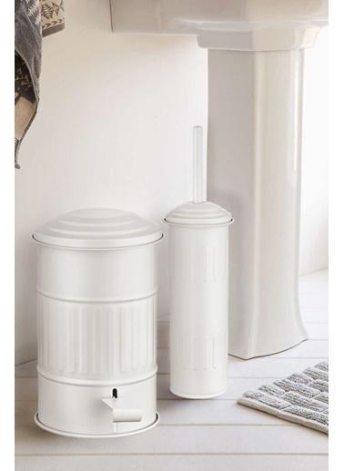 The Mia Tuvalet Fırçası - Beyaz Beyaz
